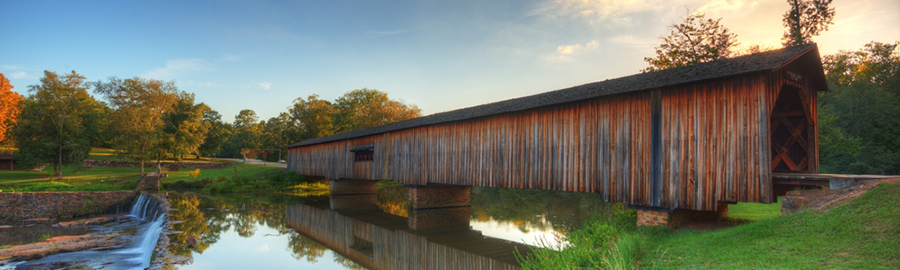 Georgia - Covered Bridge